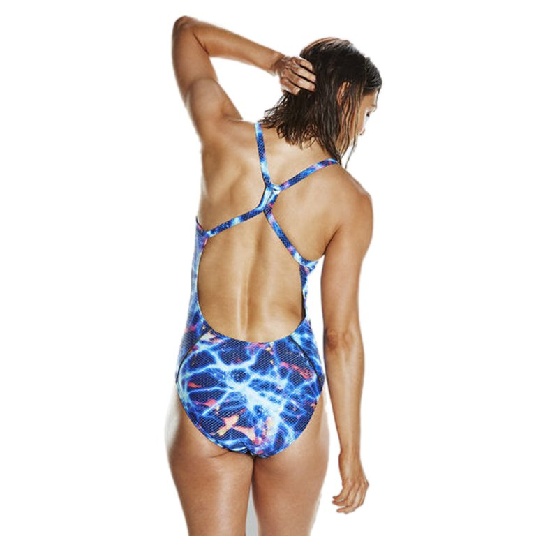 Maillot de bain femme SPEEDO STORMWAVE DIGITAL RIPPLEBACK