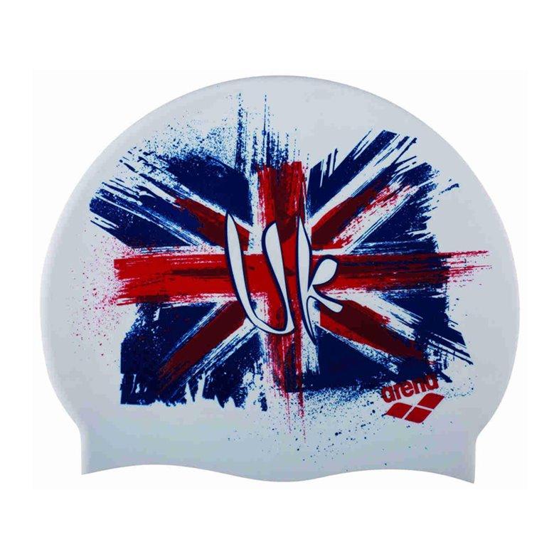 Bonnet de bain ARENA FLAG-UK