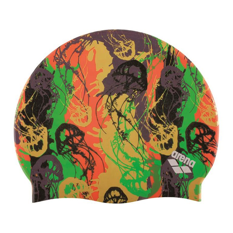 Bonnet de bain ARENA UNDERWATER- PLUM