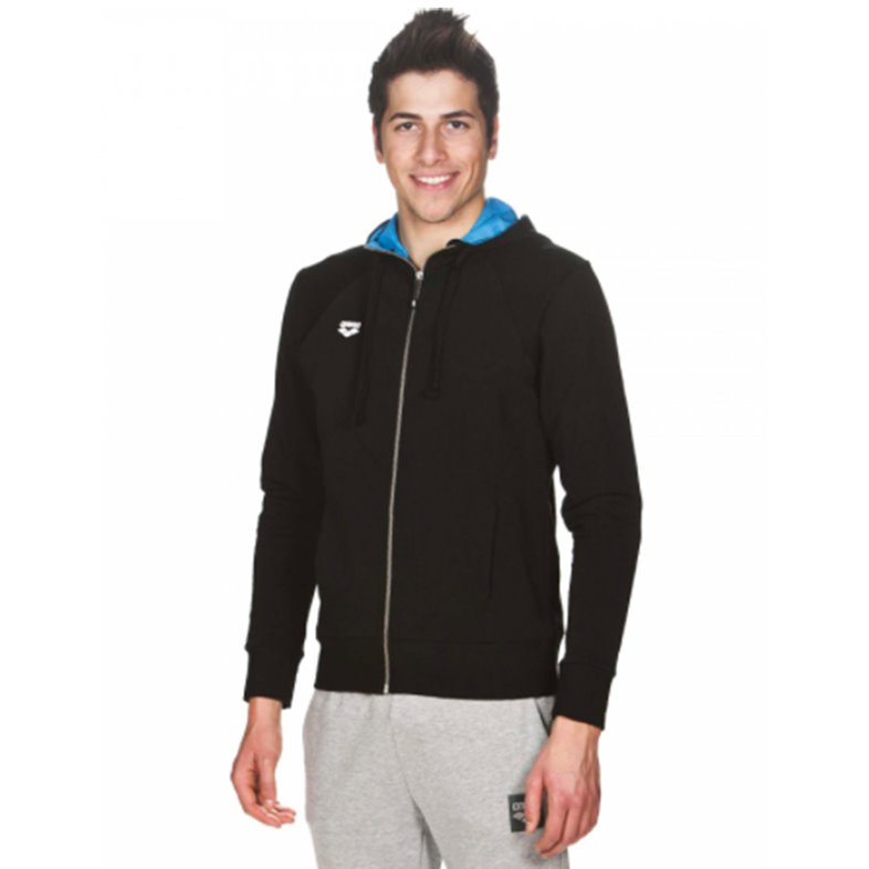 Sweat Homme ARENA GYM HOODED FZ JACKET