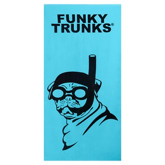 Serviette FUNKY TRUNKS Snorkel Pug