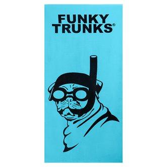 Serviette FUNKY TRUNKS Snorkel Pug