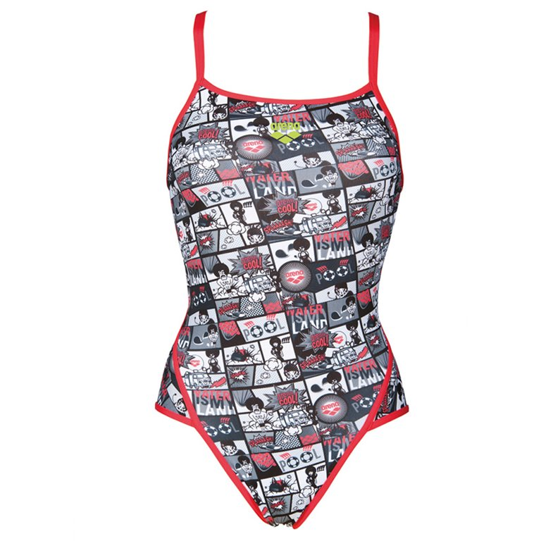 Maillot de bain 1 pièce ARENA W COMICS SUPER FLY BACK ONE PIECE L