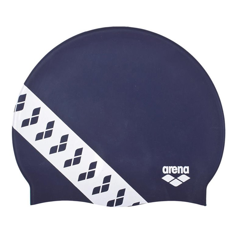 Bonnet de bain ARENA TEAM STRIPE CAP