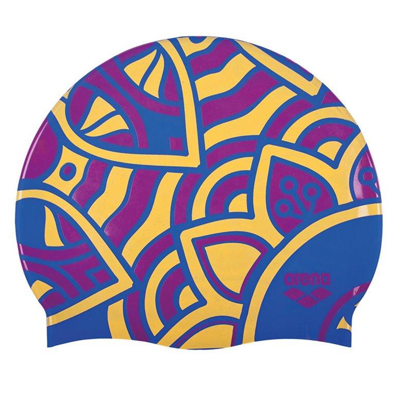 Bonnet de bain ARENA JADE BRIGHT BLUE