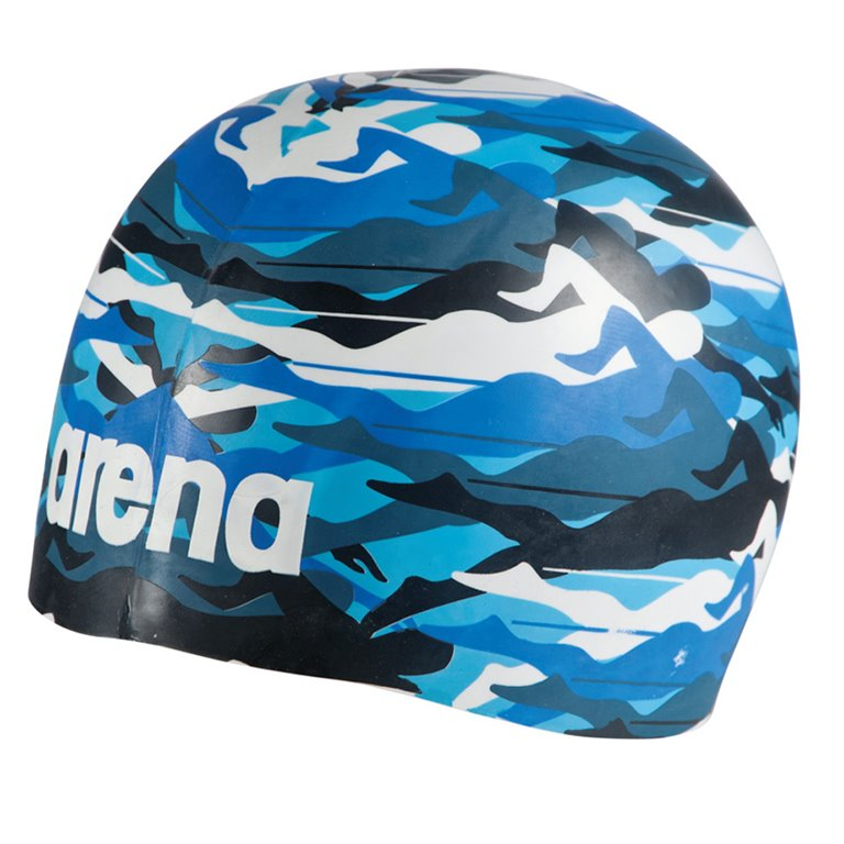 Bonnet de bain ARENA POOLISH MOULDED SWIMMER CAMO