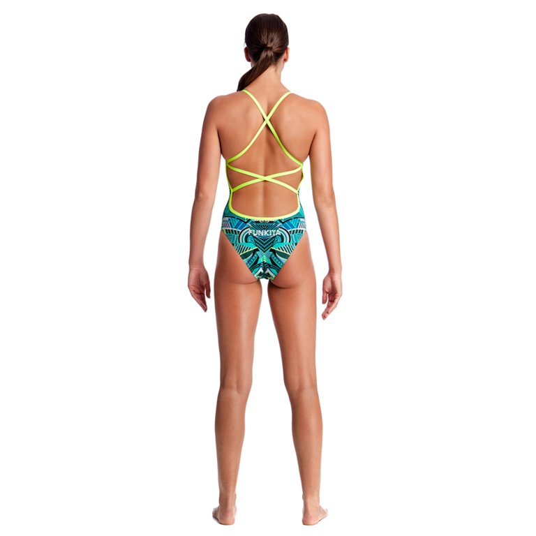 Maillot de bain 1 pièce FUNKITA Wear Wolf Strapped In