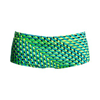 Boxer de bain FUNKY TRUNKS Green Gator