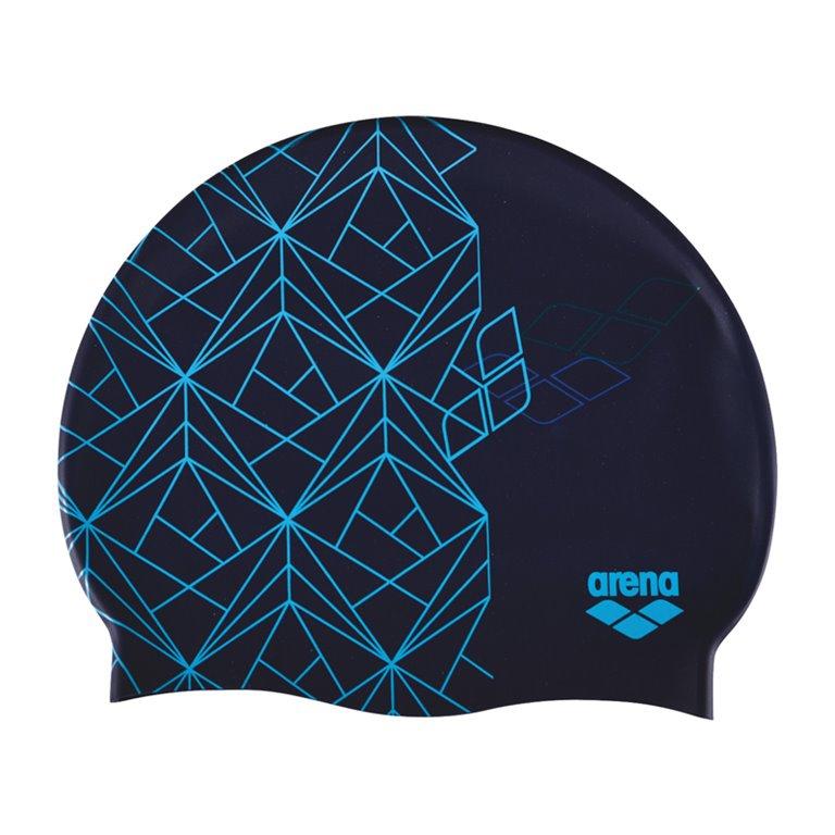 Bonnet de bain ARENA ESCHER BLUE