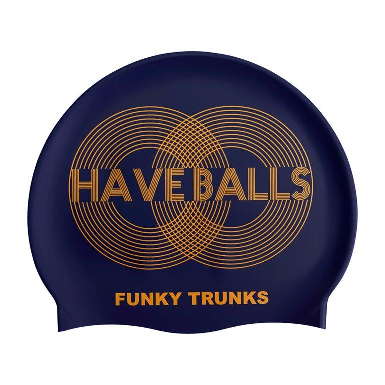 Bonnet de bain FUNKY TRUNKS Golden Balls