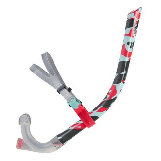 Tuba de natation SPEEDO CENTRE SNORKEL RED