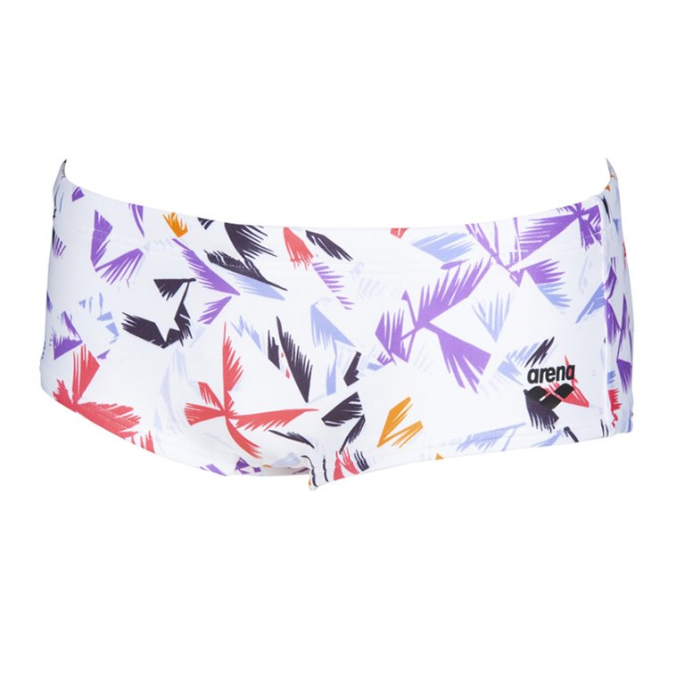 Boxer de bain ARENA M MULTICOLOR PALMS LOW WAIST SHORT