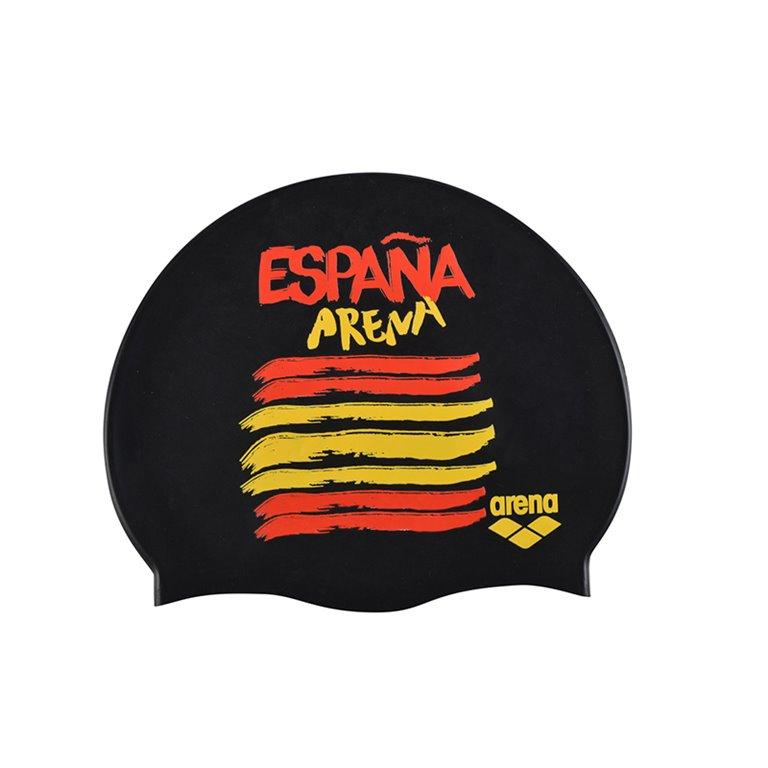 Bonnet de bain ARENA FLAGS SILICONE CAP Espagne