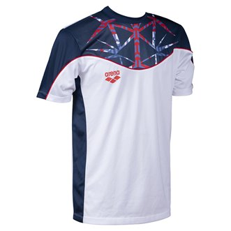 Tee-shirt respirant unisexe ARENA OG TECH TEE UK