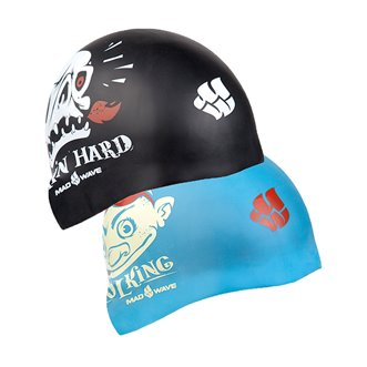 Bonnet de Natation POOL KING (REVERSIBLE)