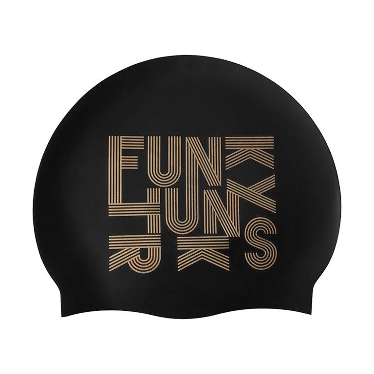 Bonnet de bain FUNKY TRUNKS Gold Lines