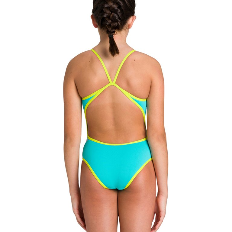 Maillot de bain 1 pièce ARENA G TEAM STRIPE SUPER FLY BACK ONE PIECE