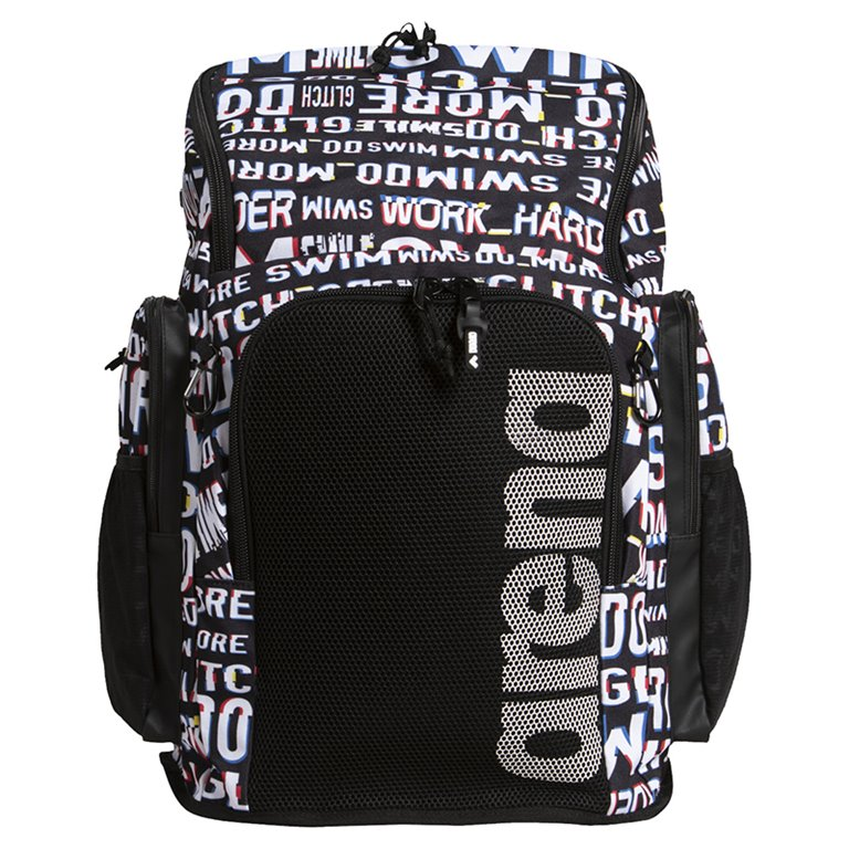 Sac à dos ARENA TEAM BACKBACK 45 ALLOVER NEON GLITCH
