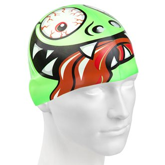 Bonnet de Natation GREEN FACE