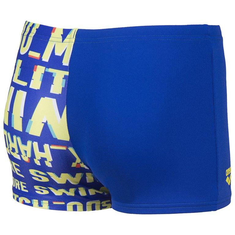 Boxer de bain ARENA G NEON GLITCH JR SHORT