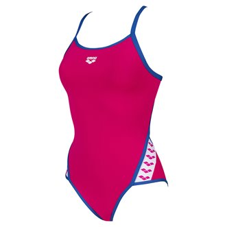Maillot de bain 1 pièce ARENA W TEAM STRIPE SUPER FLY BACK ONE PIECE