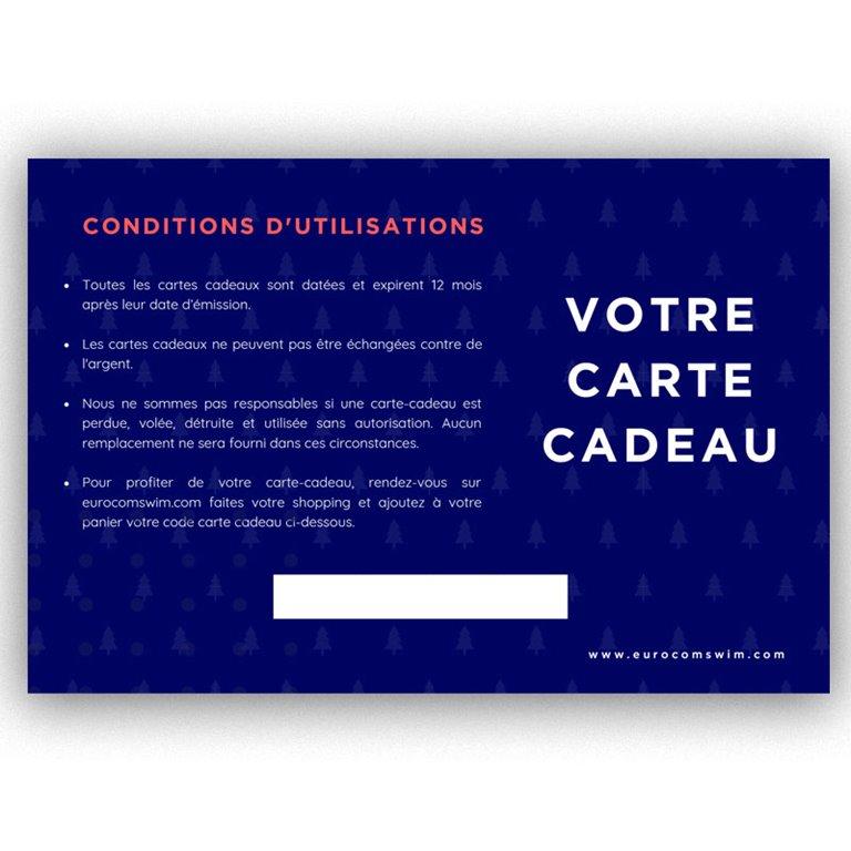 CARTE CADEAU EUROCOMSWIM 100€