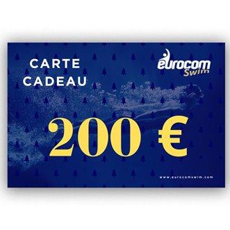 CARTE CADEAU EUROCOMSWIM 200€