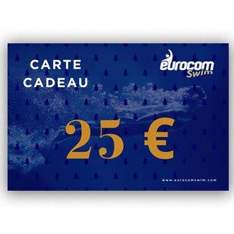 CARTE CADEAU EUROCOMSWIM 25€