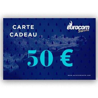 CARTE CADEAU EUROCOMSWIM 50€