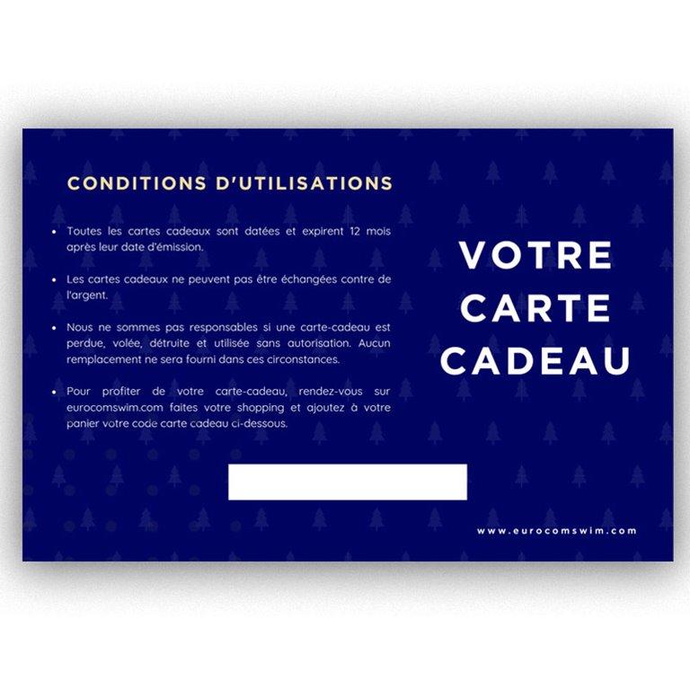 CARTE CADEAU EUROCOMSWIM 500€