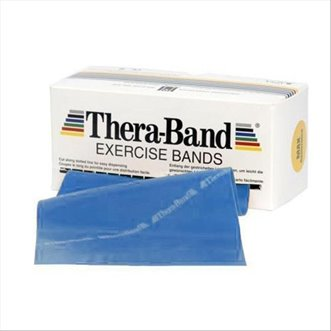 Rouleau bande latex THERABAND EXERCICE BAND 45.5m
