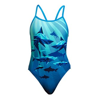 Maillot de bain 1 pièce FUNKITA Shark Bay