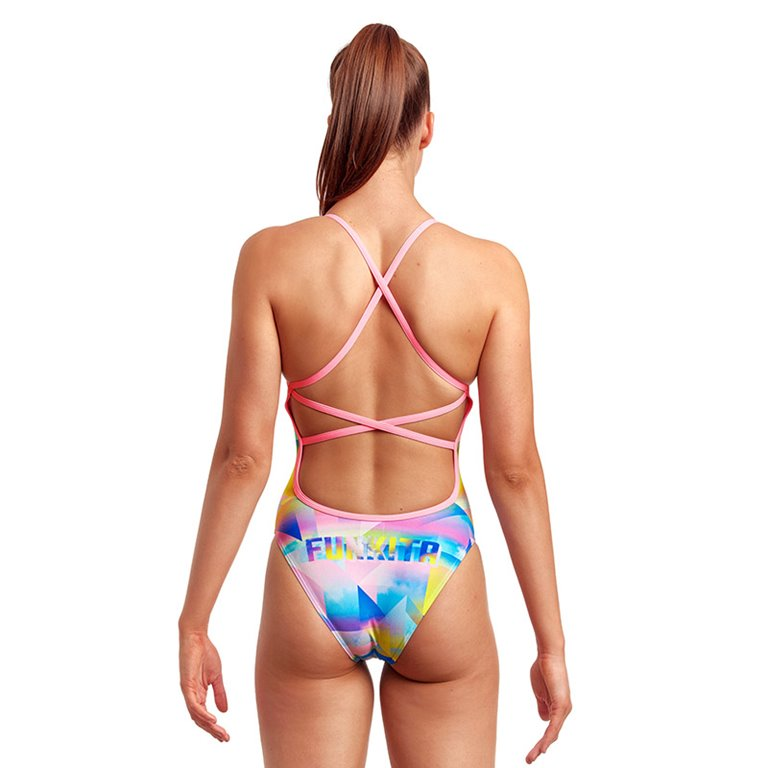 Maillot de bain 1 pièce FUNKITA Counting Clouds